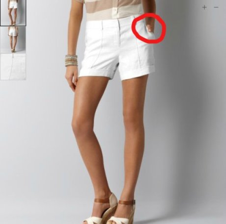 Cuando la fotografía publicitaria falla: ¿dónde está la pierna?