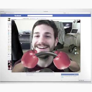 ¿Un banner con videollamada gratis a los amigos de Facebook? Así anuncia Volkswagen su manos libres
