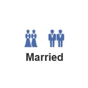Facebook le hace un guiño a la comunidad gay y estrena nuevos iconos para los matrimonios entre personas del mismo sexo