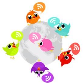 Estadounidenses y brasileños, los más activos en Twitter, la red de los 500 millones de usuarios