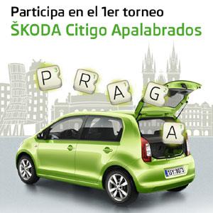 ŠKODA y Apalabrados crean el Primer Torneo Oficial Škoda Citigo Apalabrados