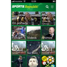 YOC incorpora a su Canal Deportes la exitosa aplicación Sports Republic