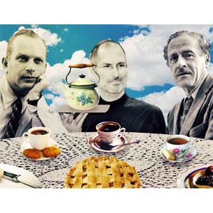 Si Steve Jobs, Marshall McLuhan y Bill Bernbach se sentaran en una mesa redonda para hablar de publicidad…
