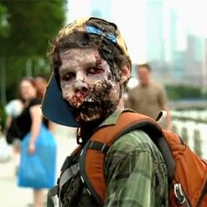"""Los zombis de """"The Walking Dead"""" se escapan de la tele para aterrorizar las calles de Nueva York"""