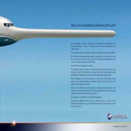 """El """"efecto Pinocho"""": Airbus acusa a Boeing de exagerar las caracterísitcas de sus nuevos aviones"""