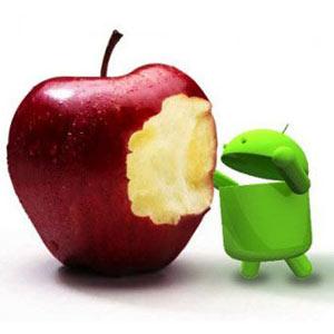 Google aumenta distancias con Apple en el mercado de los smartphones