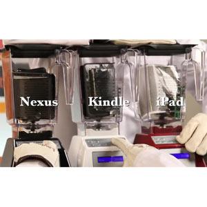 iPad Mini, Nexus 7 o Kindle Fire HD: ¿qué tableta dura menos en la batidora?