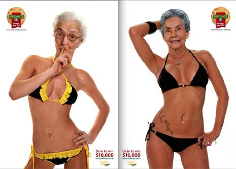 """6 ejemplos """"extremos"""" del abuso de Photoshop en el cuerpo femenino por parte de la publicidad"""