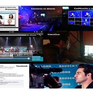 Bustamante celebró su primer concierto acústico en directo en Twitter organizado por Bausch+Lomb y Maxus