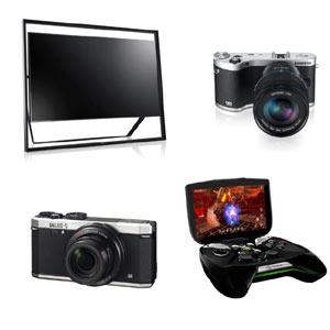 Televisores gigantes, cámaras mágicas y videoconsolas inesperadas: comienza el desfile tecnológico en el CES 2013
