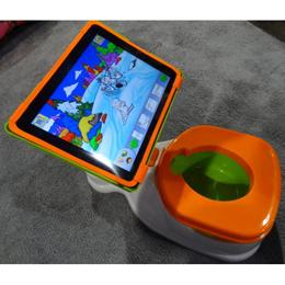 Los más pequeños también podrán utilizar el iPad cuando vayan al baño gracias a iPotty