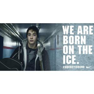 Nike apoya a los fans canadienses de hockey sobre hielo en su último spot