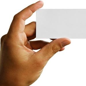Diseñe su tarjeta de empresa con un poco de psicología...