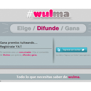 Wulma pagará a los usuarios de Twitter por promocionar sus marcas favoritas