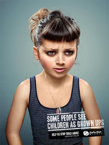 """Cuando la publicidad retrata a los niños como """"horripilantes"""" adultos"""
