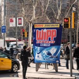 JCDecaux Innovate promociona la nueva campaña de Wipp Express