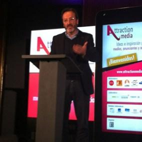 """J. Lobera (Campofrío) en #AttractionMedia: """"El modelo Superbowl: no importa el precio, sino la calidad"""""""