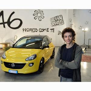 Valentino Rossi, un embajador perfecto para el nuevo Opel Adam