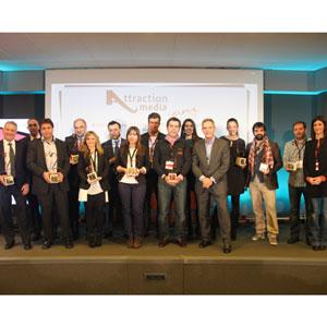 """Los Premios Attraction Media galardonan a los medios más """"sexys"""" de 2012"""