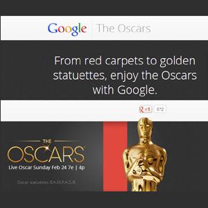 Todo sobre los Oscar en la nueva página de Google