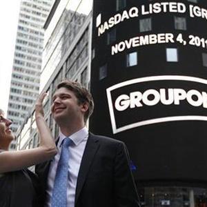 Las pérdidas de Groupon provocan la caída en picado de sus acciones