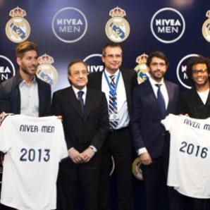 Nivea Men se reinventa de la mano del Real Madrid