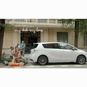 Toyota convierte a un padre en un superhéroe en su nueva campaña