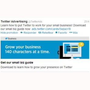 Twitter prueba un nuevo sistema de inserción de anuncios dentro de los tuits de los usuarios