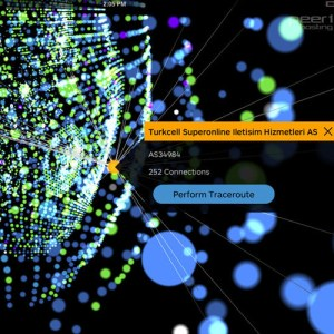 "'Map of the Internet', una aplicación para ""ver"" internet en tiempo real"