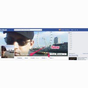 Facebook prueba un nuevo diseño del perfil en usuarios neozelandeses