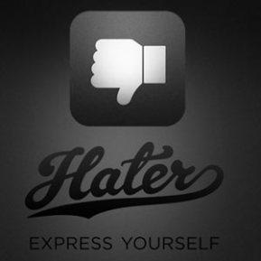 """El esperado botón """"no me gusta"""" de Facebook al fin disponible en una aplicación: Hater"""