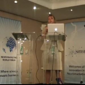 """Gemma Carlvert (Neurosense) en #nmwf: """"El neuromarketing es útil porque sus resultados son difíciles de falsificar"""""""
