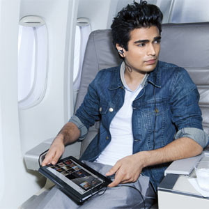 #CeBIT: En el avión, ¡no sin mi tablet y smartphone!