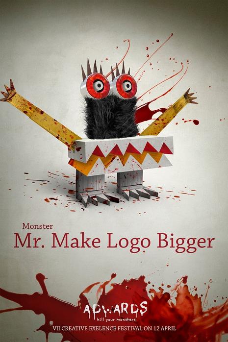 """Cuando los clientes de los publicitarios se convierten en """"monstruos"""" sanguinarios"""