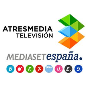 Atresmedia le pisa los talones a Mediaset en la lucha por la publicidad