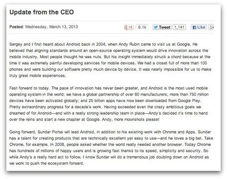 5 blogs corporativos en los que buscar la inspiración
