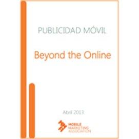 """MMA presenta la guía sobre la """"Publicidad Móvil. Beyond the Online"""""""