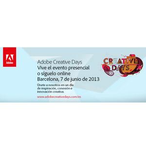 Adobe inicia su gira Europea #CreativeDays que visitará Barcelona el próximo 7 de junio