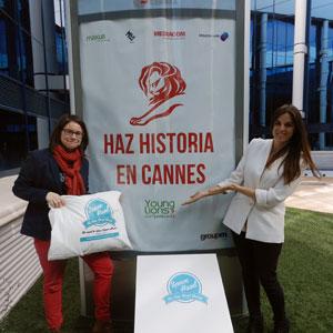 Elena Castán y Azahara Vera (Maxus) representantes españolas en Young Media Lions Competition