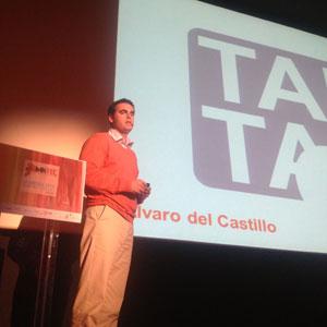 """Á. Del Castillo (TAPTAP) en #MKTEC: """"Todavía no han averiguado cómo pasar del 'internet vintage' al internet móvil"""""""