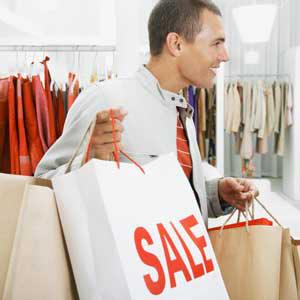 A los hombres europeos también les gusta ir de compras