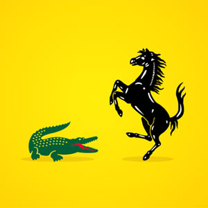 """Cuando las mascotas de las grandes marcas se escapan para vivir en estado """"salvaje"""""""