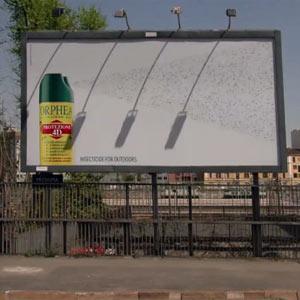 Cuando los anuncios de insecticidas son trampas gigantes para moscas y mosquitos