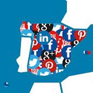 Los españoles son los europeos más interactivos en las redes sociales, según IPSOS