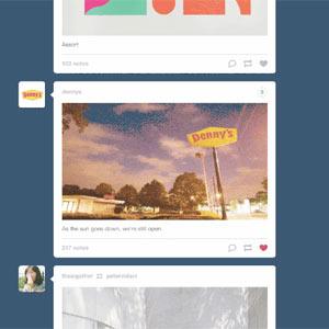 Tras su debut en los dispositivos móviles, los anuncios de Tumblr aterrizan también en su versión web