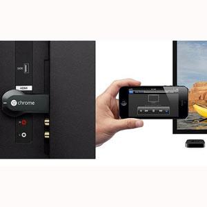 """Apple, Google y otros gigantes de la tecnología intentan """"engullir"""" a la televisión, pero ésta se resiste"""