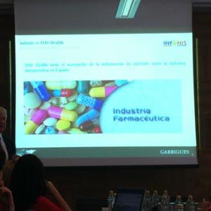 La guerra del marketing farmacéutico en España se salda con el auto a favor de Infonis