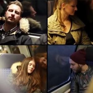 """Las ventanas de tren parlantes, el """"novamás"""" en publicidad exterior"""