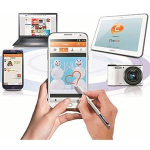 El servicio de mensajería de Samsung, ChatON, ya ha superado los 100 millones de usuarios