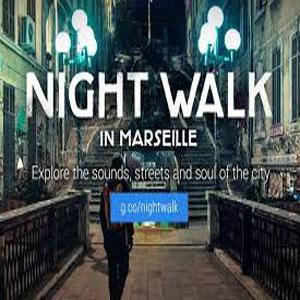 logo google night walk